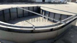 河北旭群拱形骨架护坡钢模具的图片介绍