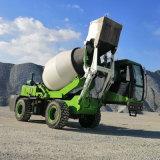 自上料混凝土搅拌车 3.5方小型农用多功能搅拌车