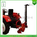 拖拉機帶的割草機農業機械