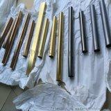 拉絲黑鈦不鏽鋼方管45*45*1.5一支多少錢