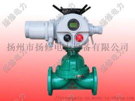 供应扬修电力隔膜阀F-DZW系列智能型执行器