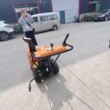 汽油动力小型清雪机 手扶式除雪机 新款密集刷扫雪机