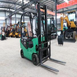 新能源液压叉车 四轮纯电动叉车 1吨2吨装卸搬运车