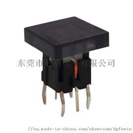 五盈TS9系列高品质插脚式带LED灯轻触按键开关