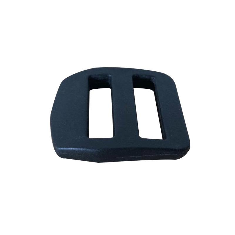 現貨黑色塑料三檔扣,織帶調節扣,日字扣,背帶扣具