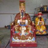 火神爺神像 火德星君雕塑 三頭六臂神像訂做