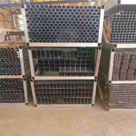 南京大夏吊顶木纹铝方管 型材四方通吊顶定制