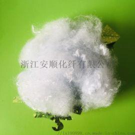 1.5D-25D阻燃涤纶短纤白色涤纶纤维黑色纤维