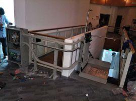 地铁  无障碍平台广东定制斜挂电梯斜挂残疾人升降机