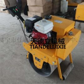 大单轮常柴动力压实机 小型路面压路机