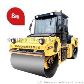 8吨双钢轮压路机多少钱路通压路机售价