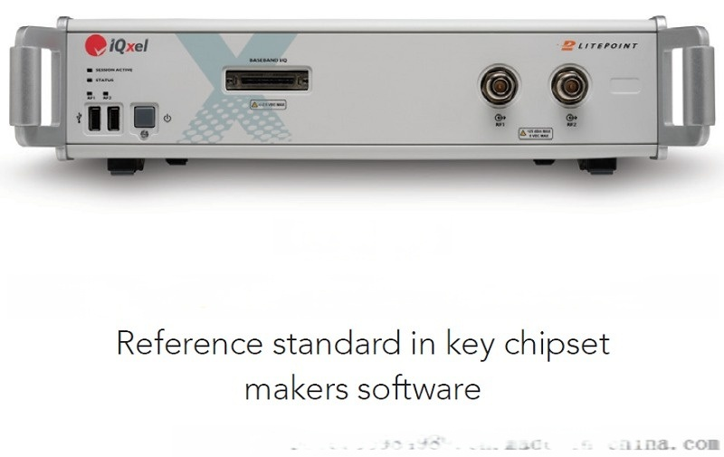 IQxel接收机最小输入电平测试