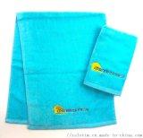 厂家直供订制广告促销赠品纯棉绣花运动毛巾浴巾