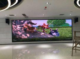 300人报告厅LED屏幕选用P2方案以及安装效果