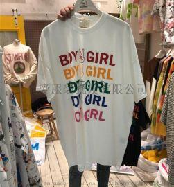 T恤厂家处理 尾货女装T恤 **女装T恤