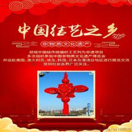 现货供应广告礼品纯手工编织桃木中国结春节装饰