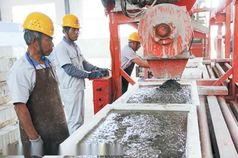 水泥预制小构块设备/生产厂家