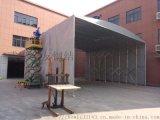 江岸區加工生產推拉棚  物流倉庫推拉蓬遮陽環保雨棚