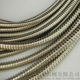 等离子机用304双扣不锈钢穿线软管  厂家供应