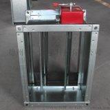 电动排烟阀 防火阀3C手动70度280度排烟防火阀