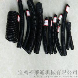 宁波售福莱通牌波纹管 塑料穿线圆管ad25