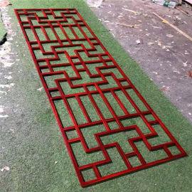 慈溪市仿木纹铝合金窗花 习水县复古绿窗花造型设计