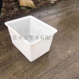 食品级塑料水箱加厚牛筋水产养殖箱