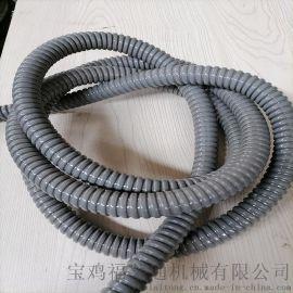 奉化供应包塑镀锌穿线软管 DN25电缆保护套管
