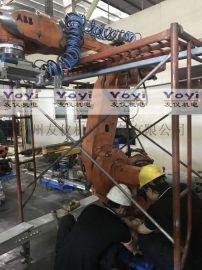 ABB机器人IRB 6660 切割机加工机器人维修