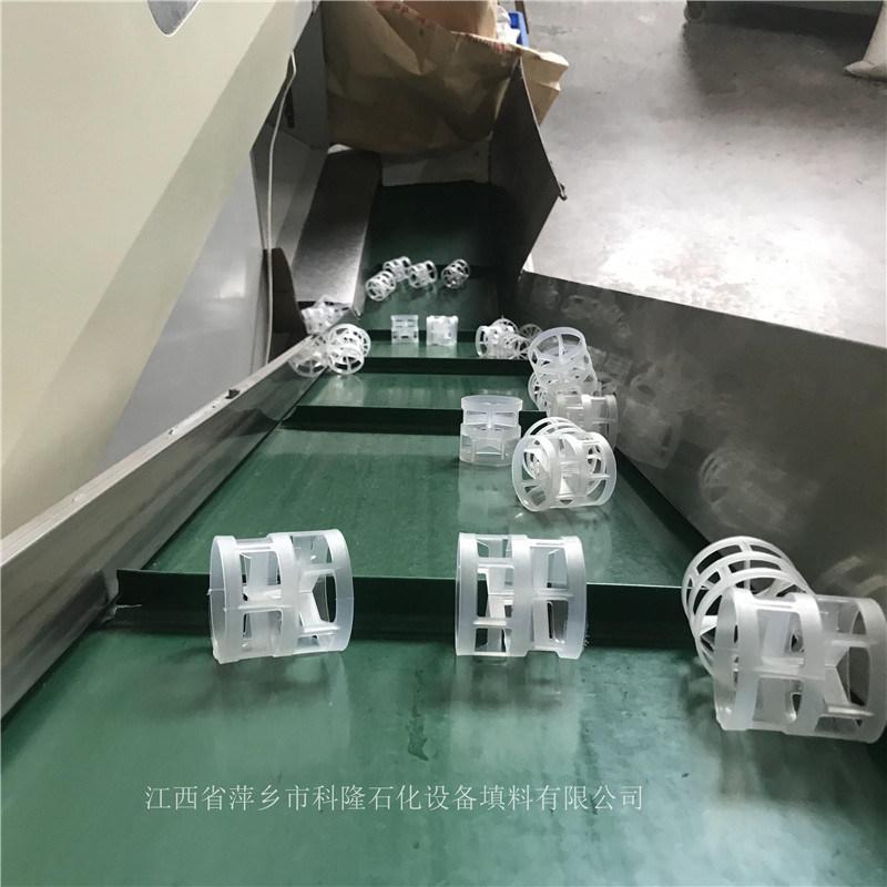 萍乡填料之乡直销DN25PP鲍尔环填料现货秒发