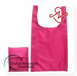 再生190T涤塔夫 环保束口袋可回收涤纶面料