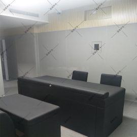 谈话室防撞软包介绍安装方案  办案区墙面审讯室软包