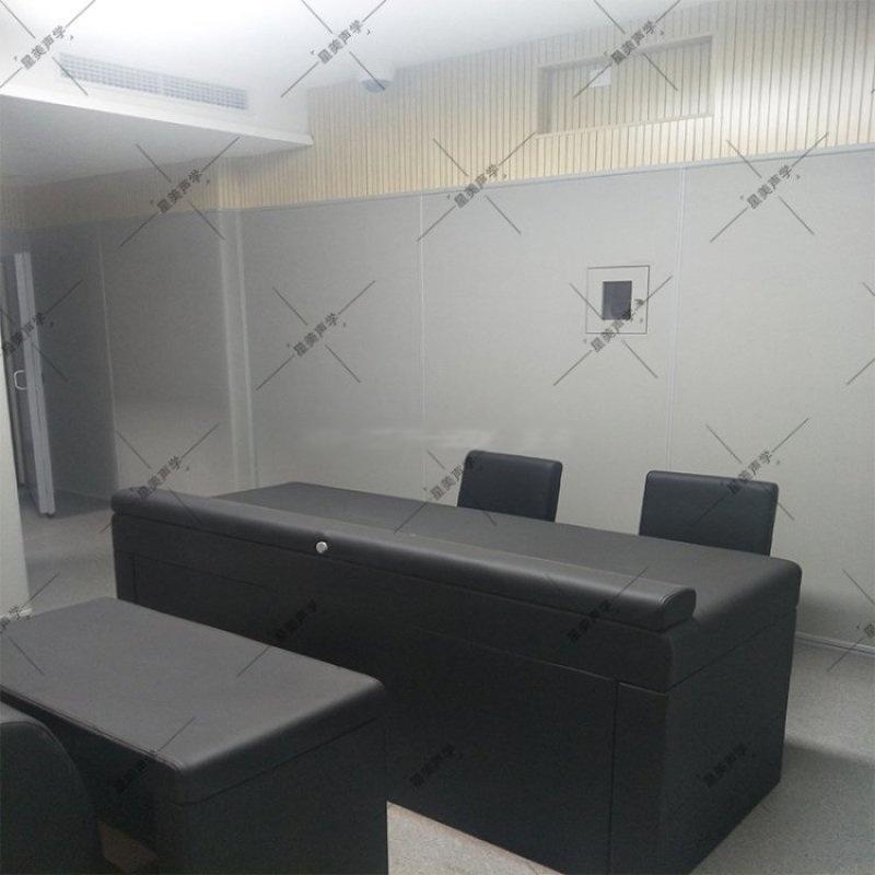 谈话室防撞软包介绍安装方案纪委办案区墙面审讯室软包