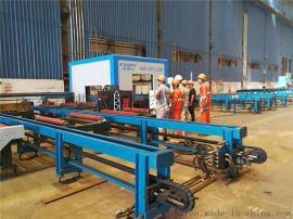 供应新疆全自动H型钢切割生产线