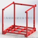 巧固架 可插式堆垛架木底板钢制堆垛架
