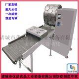 圆形蛋饼机、新型春卷皮机、电加热烤鸭饼机