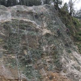 新疆边坡防护网厂家 sns边坡防护网