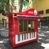 创意钢琴造型商品售卖亭