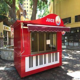 創意鋼琴造型商品售 亭
