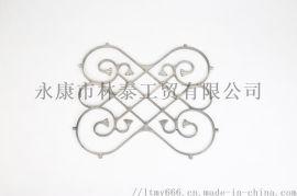 镁合金门花围栏花压铸件 铝合金装饰花定制 护栏围栏