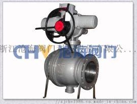 Q947F铸钢电动固定式球阀