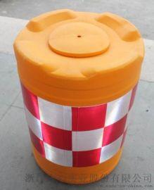 交通设施吹塑桶高速分流通隔离桶反光锥雪糕筒工地围挡