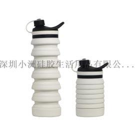 运动硅胶水杯折叠硅胶水杯运动水壶运动水瓶旅行水壶