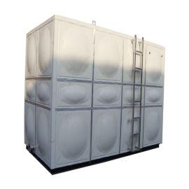 模压水箱 玻璃钢加热水箱 霈凯环保