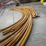 上海仿竹紋圓管竹子 弧形單節竹紋鋁圓管廠家