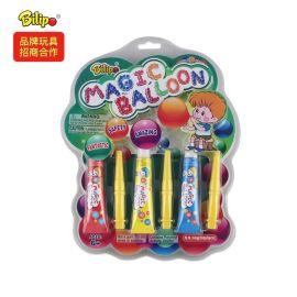 外銷兒童玩具膠吹泡膠,太空球吹泡泡玩具