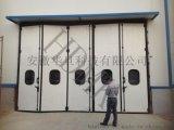 遙控摺疊門,電動摺疊遙控門,不鏽鋼摺疊保溫門