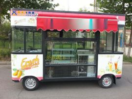 河南欧时利DT-1电动餐饮车电动小吃车