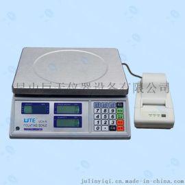 联贸UCA-N-3kg打印电子秤 联贸条码打印计数电子称价格
