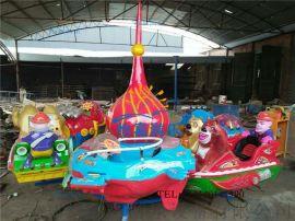 厂家直销儿童旋转升降飞机旋转飞鱼电动转马自控转椅